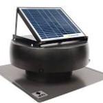 Solar powered vent